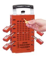 Master Lock 503RED Red Latch Tight Group Lock Box