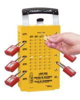 Master Lock 470-503Ylw Yellow Latch Tight Grouplock Box (1 EA)