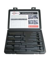Mayhew Tools 37345 10 Piece Screw Extractorset W/ Case