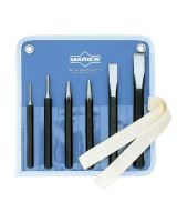 Mayhew Tools 61005 751-K 6Pc Punch & Chisel