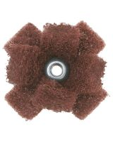 Merit Abrasives 08834188585 Merit Cross Buffs 1-1/2X 1/2