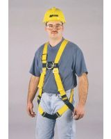 Honeywell Miller 850-4/UYK Full Body Non Stretch Harness 1 Lanyard Ring