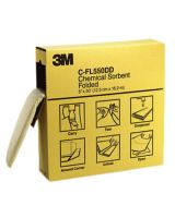 "3M C-FL550DD 5""X50' Folded Chemical Sorbent (Cs/3 Boxes) (3 EA)"