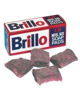 """Franklin 517-W240000 (Box/10) Brillo Hotel Soap Pad Pad Size 3 1/2"""" (Qty: 1)"""