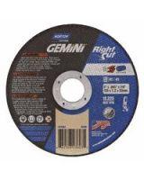Norton 547-66252823603 5X.045X7/8 Gemini Rightcut Type01 Straight Wheel (Qty: 25)