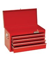 """Proto 442719-10Rd-D Red Drop Front Chest 27X19"""" 10 Drawer"""