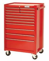 """Proto 442742-12RD Red 12 Drawer Roller Cabinet 27X42"""""""