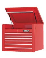 """Proto 453427-6Rd Red 6 Drawer Chest 34X27"""""""