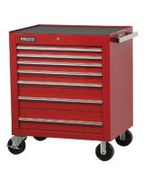 """Proto 453441-8Rd Red 8 Drawer Roller Cabinet 34X41"""""""