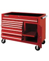 """Proto 455041-8Rd-1S Red 8 Drawer Workstation50X41"""""""