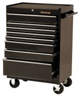"Blackhawk 92708R Cabinet 27"" 8 Drawer Blk"
