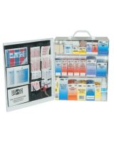 First Aid Only 6155 Standard Industrial 3 Shelf First Aid Station