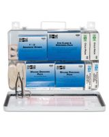 Pac-Kit 6450 Weatherproof Steel Ind.50 Person First Aid K