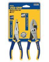 """Irwin Vise-Grip 2078702 2 Piece Pro Plier Set(6""""Long Nose /6"""" Slip Joint"""