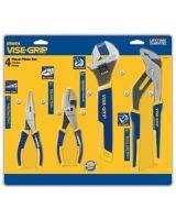 "Irwin Vise-Grip 2078705 4 Piece Pro Plier Set (6"" Ln & Slip/10"" Adj& Gro"