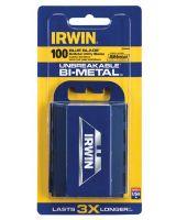 Irwin 2084400 Utility Knife Bi-Metal Blade (100/Pk)Disp (100 EA)
