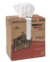Georgia Pacific 29221 Brawny Ind Ld 2-Ply Paper Wipers 20/Bxs/100 Shee