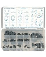 Precision Brand 13990 Metric E-Clip Assortment- 255 Pieces
