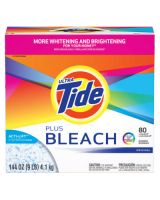 Procter And Gamble 84998 Tide Ultra Pdr W/Bleach144 Oz.Orig Scent Ca/2