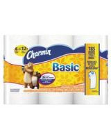 Procter And Gamble 608-85982 Dwos Charmin 1Ply T/T Whi Basic 8/6 Double Roll (1 CA)
