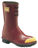 "Servus 6145-11 12"" Red Insulated Pac Boots W/Steel Toe"