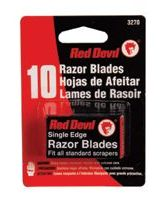 Red Devil 3270 Razor Blades Single Edge (10 EA)