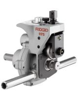 Ridgid 25638 Model 975 Combo Roll Groover