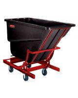 Rubbermaid Commercial 640-1074-43-Bla 2.5Cu.Yd. Self-Dumping Hopper 1-000Lb (Qty: 1)