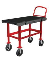 Rubbermaid Commercial 640-4473-Bla Work-Height Platform Truck 24X48 (Qty: 1)