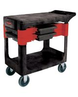 Rubbermaid Commercial 640-6180-Bla Trades Cart (Qty: 1)