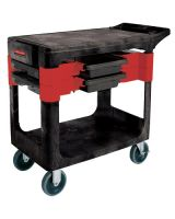 Rubbermaid Commercial 6180-BLA Trades Cart
