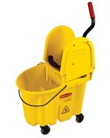 Rubbermaid Commercial 640-7577-88-Yel Mopping Bucket And Wringer Combination Pk-Yellow (Qty: 1)