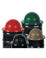 Rubbermaid Commercial 640-2030-Bk Dome Top For H12Bk (1 EA)