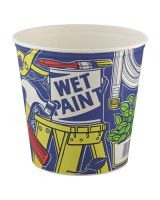 Solo 10T1UU 165 Oz Paper Bucket Unwaxed Double Wrapped (100 EA)