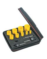 L.S. Starrett KDC09051-N Dch Gen Purpose Kit W/9Holesaws & 4 Accessories