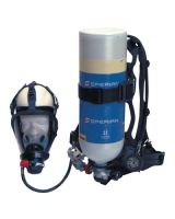 Honeywell North 483121 Std Ind Scba W/Sar30 Mincougar No Air