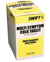 Honeywell North 2108250 Multi Symptom Cold Tablets 250/Bx