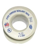 Plastomer 1/4X260 Thread Seal Tape