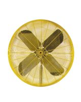 "Tpi Corp. HDH30 30"" 2-Speed 115Volt 1/2Hp Fan Head On"