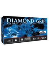 Microflex MF-300-L Diamond Grip Pf Latex Exam Large (100 EA)