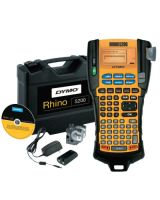 Dymo/Rhino 1756589 Rhino 5200 Label Printer- Hard Case Kit