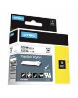 "Dymo/Rhino 18488 Rhino 1/2"" White Flexible Nylon Labels (1 EA)"
