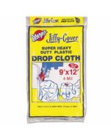 Warp Brothers 795-4Jc-912 9'X12' 4-Mil Jiffy-Coverdrop Cloth Spr Hvy Duty (Qty: 1)