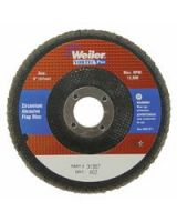 """Weiler 804-31357 5"""" Wolv Angled Phenolicbacking 60Z 7/8 Arb Hole (Qty: 1)"""