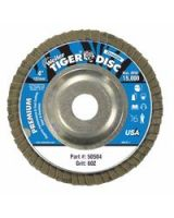 """Weiler 804-50504 4"""" Tiger Disc Flap Disc60-Grit 5/8 (Qty: 1)"""