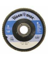 "Weiler 804-50713 Tiger Disc 5"" 40Grit 7/8Arb (Qty: 1)"