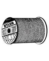 "Orion Ropeworks Inc 811-710080-00500-0 1/4"" X 500' Solid Braidnylon (Qty: 1)"