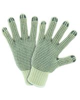 West Chester 708SKBS Mens Size String Knit Dotted Both Sides Glove (1 PR)