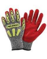 West Chester 813-86713B/3Xl R2 Safety Rigger Glove With Hook & Loop Wrist - (3 PR)