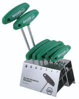 Wiha Tools 36490 7Pc Torx T-Handle Set W/Metal Stand